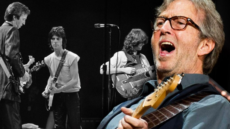 eric clapton feat jeff beck and jimmy page � �layla