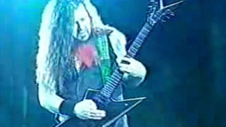 """Dimebag Darrell Rips Through """"Floods"""" Solo, And It's Pretty Killer 