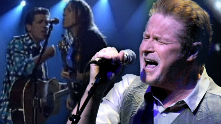 """Watch As Veteran Rockers The Eagles Dazzle With Emotionally Charged """"Desperado""""   Society Of Rock Videos"""