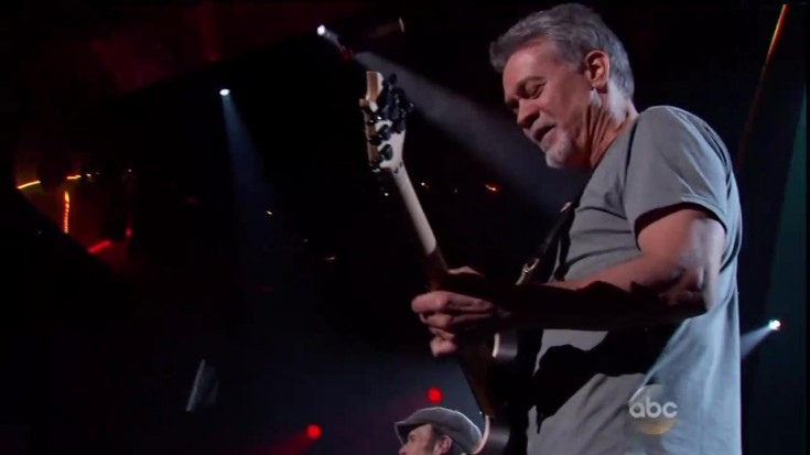 """Eddie's Still Got It! Tearing Up The Billboard Music Awards With """"Panama"""" 