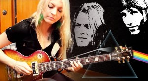 """Girl Guitarist Stuns With """"Comfortably Numb"""" Guitar Solo"""