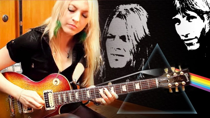 """Girl Guitarist Stuns With """"Comfortably Numb"""" Guitar Solo   Society Of Rock Videos"""