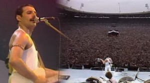 """Queen- """"Crazy Little Thing Called Love"""" At Live Aid"""