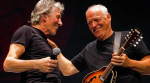 """One Night Only: David Gilmour + Roger Waters Reunite For """"Comfortably Numb"""""""