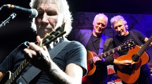 "Pink Floyd's Gilmour And Waters Reunite For ""Wish You Were Here"" Unplugged"