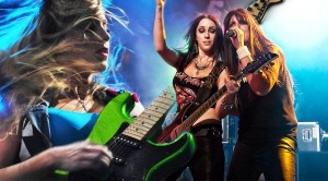 """The Iron Maidens Cover Iron Maiden's """"Run To The Hills"""""""
