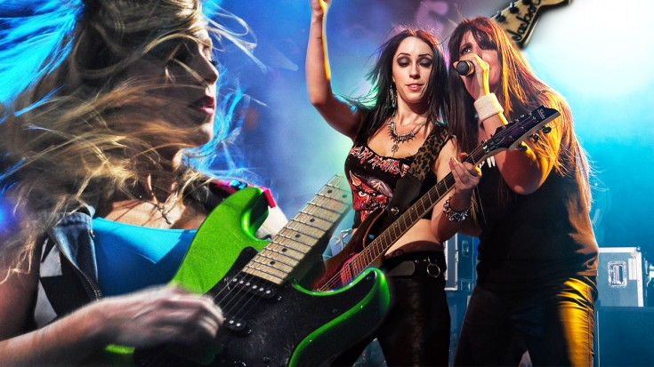 The Iron Maidens Cover Iron Maiden S Run To The Hills