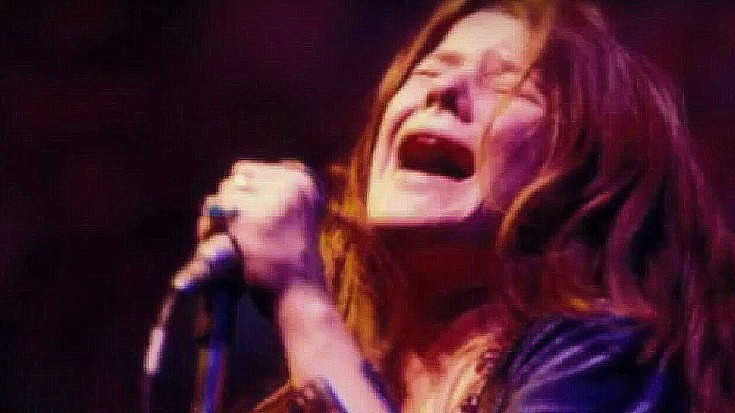 """Ultra Rare Footage Shows Janis Joplin's Electric 1970 Performance Of """"Cry Baby"""" In Toronto 