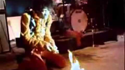 Jimi Hendrix Sets Guitar On Fire And Then Does This… | Society Of Rock Videos