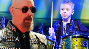 """Watch As This 7-Year-OId Nails Drum Cover Of Judas Priest's """"Painkiller""""!"""