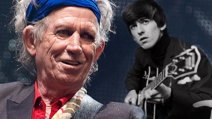 Keith Richards Looks Back On His Friend, George Harrison ...