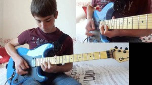"14-Year-Old Kid Plugs In His Guitar And Absolutely Crushes Lynyrd Skynyrd's ""Free Bird"" Solo"