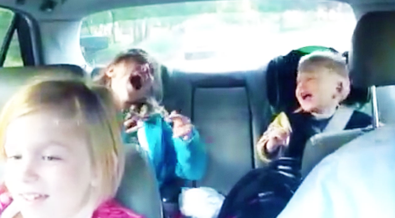 cute kids rock out to �bohemian rhapsody� with dad on way