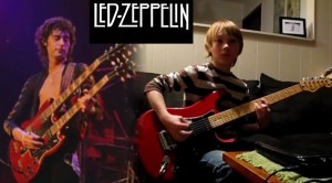 10 Yr Old Kid Plays 21 Led Zeppelin Songs in 4 Minutes