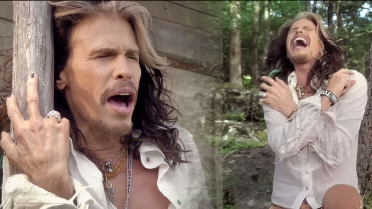Did You Already Forget How GOOD Steven Tyler's Country Song Really Is? | Society Of Rock Videos