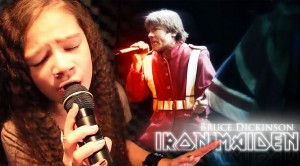 """Iron Maiden: """"The Trooper"""" cover by 11-Year-Old Sara & Motion Device"""