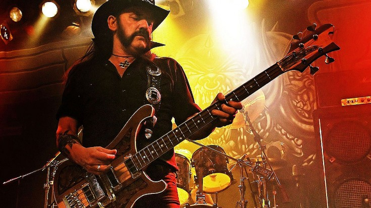 "Celebrate Lemmy's Life And Legacy With Motörhead's ""Ace Of Spades"" 