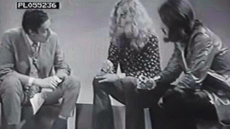 RARE Plant And Bonham Interview, 1970 | Society Of Rock Videos