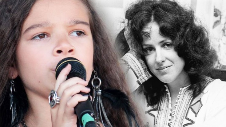 "Little Girl Goes Psychedelic For This Jefferson Airplane ""White Rabbit"" Cover 