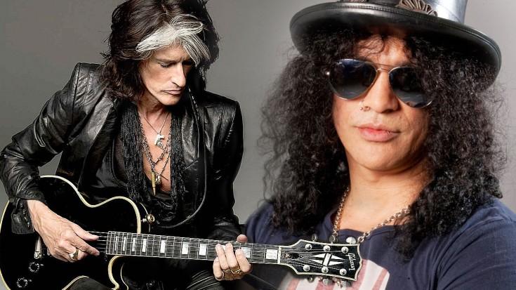 Slash Gives Joe Perry Back His Prized Guitar Society Of Rock