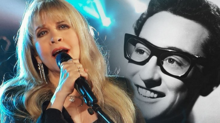"""Stevie Nicks Pays Tribute To Rock Legend Buddy Holly With """"Not Fade Away"""" 