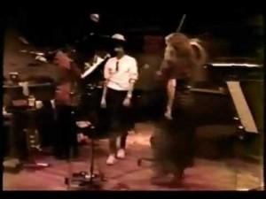 Stevie Nicks Dancing to Edge of Seventeen Demo