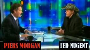 Ted Nugent vs. Piers Morgan CNN