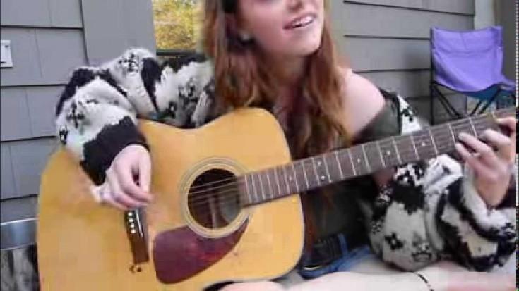"""This Girl Channels Her Inner Janis Joplin Through """"Summertime""""   Society Of Rock Videos"""