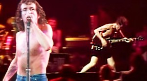 "Bon Scott and Angus Young Going BONKERS With ""Let There Be Rock"""