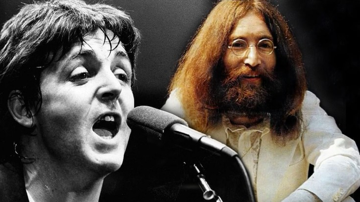 John Lennons Last Song Dedicated To Paul McCartney Now And Then RARE