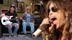 Absolutely HYSTERICAL Wayne's World Episode Featuring Aerosmith + Tom Hanks