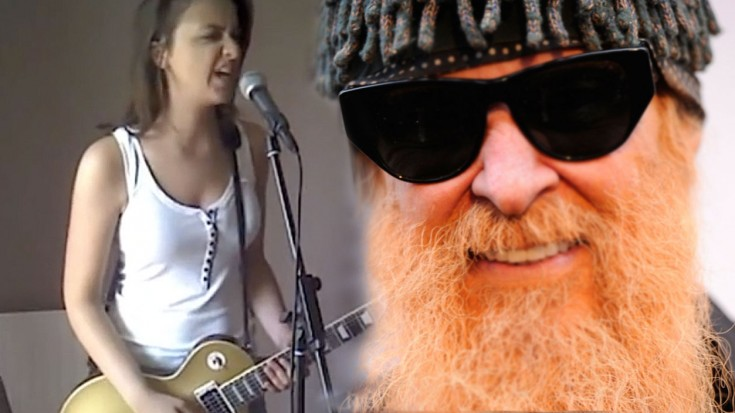 Gimme All Your Lovin Zz Top Cover By The Beautiful Laura