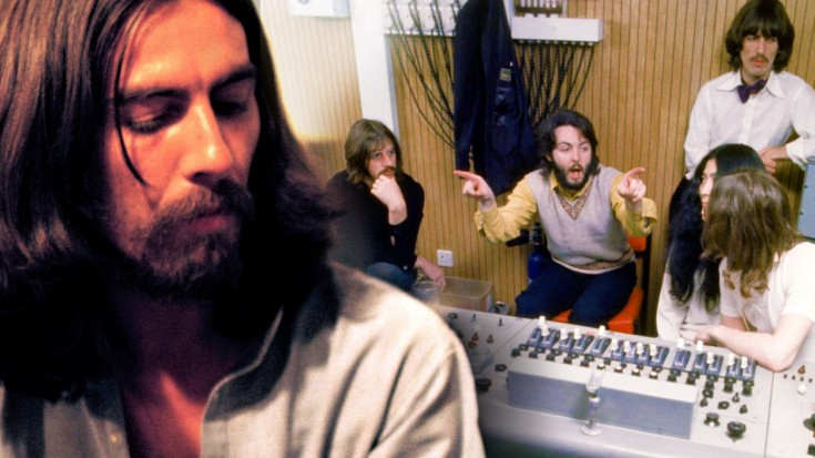 "George Harrison Gets A Little Help From His Friends With ""Something"" 