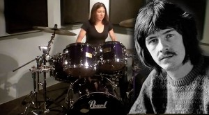 """You Will Be Mesmerized By This Beautiful Lady's Drum Cover Of Led Zep's """"Fool In The Rain"""""""