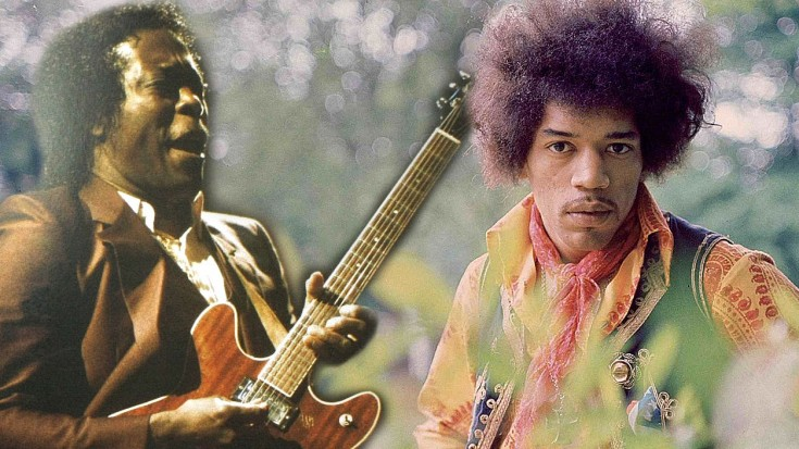 Jimi and Buddy jam