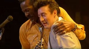 "Remember When Chuck Berry And Julian Lennon Rocked Out Together To ""Johnny B. Goode""?"