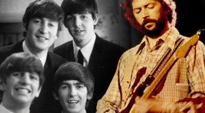 "George, Paul, and Ringo, ""Sour Milk Sea"" feat. Eric Clapton and Jackie Lomax"