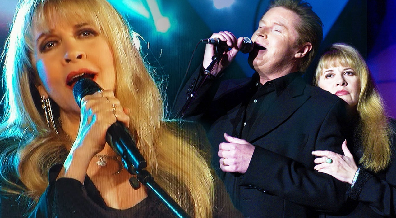 """Stevie Nicks and Don Henley, """"Leather and Lace"""" Live, 2000 ..."""