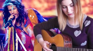 """This 16-Year-Old Girl's Acoustic Performance Of """"Dream On"""" Will Bring You To Tears"""