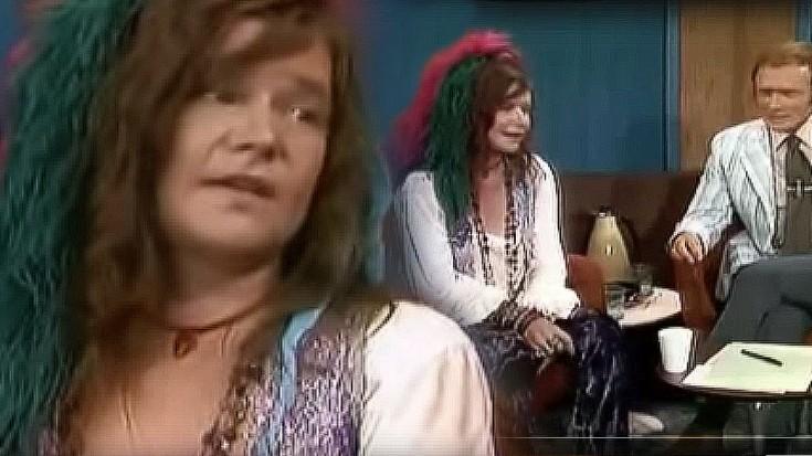 Janis Joplin's Illuminating Final TV Appearance   Society Of Rock Videos
