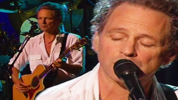 """Lindsey Buckingham, """"Never Going Back Again"""" Live   Society Of Rock Videos"""