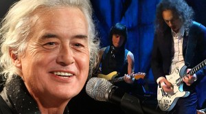 Jimmy Page Joins Metallica and Jeff Beck For Rock And Roll Hall Of Fame Performance