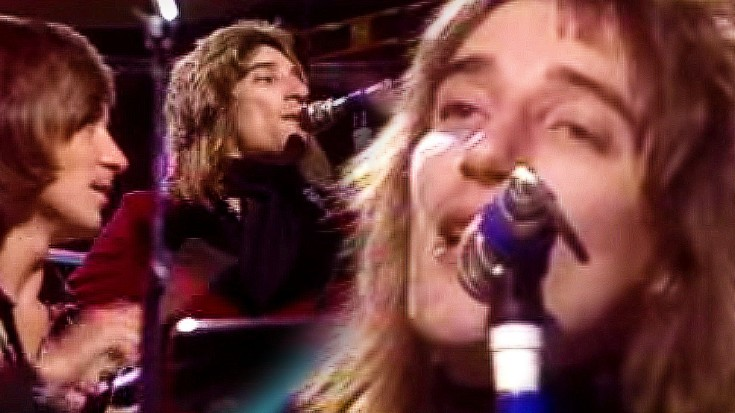 """Rod Stewart, """"Maggie May"""" Live 1971 