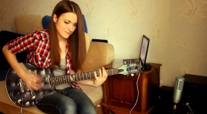 """Anastasia"" Slash Cover by Marina Andrienko- She Crushes It"