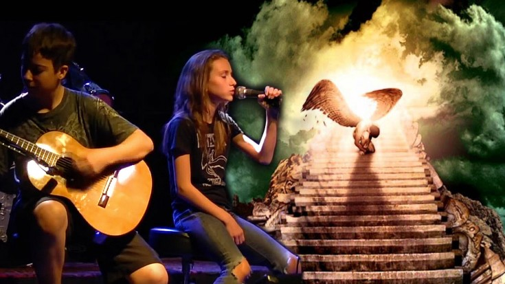"""This """"Stairway To Heaven"""" Cover By Young Duo, Will Leave You Wanting More 