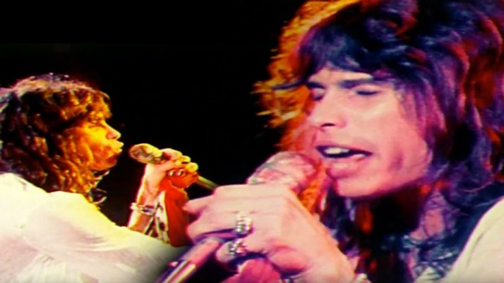 We Thought We Were Going To Only See LIVE Footage of Steven Tyler, But Then We Saw This | Society Of Rock Videos