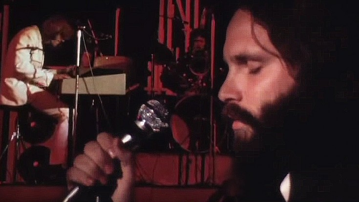 """The Doors, """"Break On Through (To The Other Side)"""" Live At Isle Of Wight 1970 