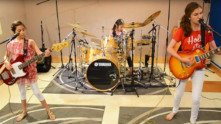 Three Little Girls Jam A Metallica Classic – And It'll Restore Your Faith In Humanity | Society Of Rock Videos