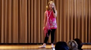 """Sassy Second Grader Rocks School Talent Show With Journey's """"Don't Stop Believin'"""""""