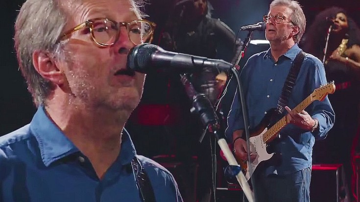 """Slowhand At 73: Eric Clapton Crushes Record With Royal Albert Hall """"Cocaine"""" Performance"""